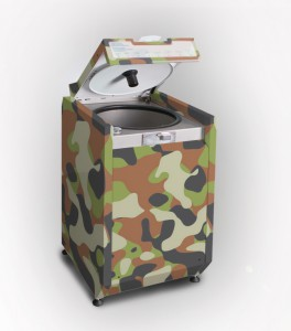 Eco Finisher Macerator Camouflage Ecopatent
